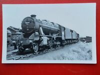 PHOTO  LMS STAINER CLASS 8F LOCO NO 48661 C1951
