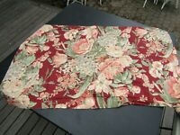 Beautiful Red Rose Floral Chic & Shabby Style King Size Pillow Sham