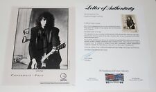 Jimmy Page Signed Autographed Coverdale Page Promo Photo Led Zeppelin PSA Letter