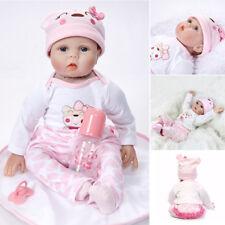 22inch bambole reborn realistiche in silicone reborn vinile regalo di natale