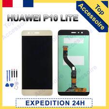 VITRE TACTILE + ECRAN LCD ORIGINAL PRET-A-MONTER POUR HUAWEI P10 LITE 2017 OR