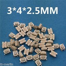 L96- 10 Stk SMD  Mini-Taster    Mikrotaster  Eingabetaster 3 x 4 x 2,5 mm