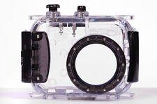 130ft Underwater Housing Case for Sony DSC W150 W120 W130 W210 W330 W550 BLACK