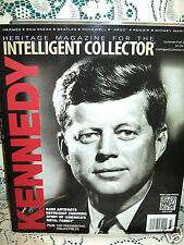 HERITAGE INTELLIGENT COLLECTOR 2013~RARE KENNEDY ARTIFACTS~BEATLES~MICKEY MANTLE