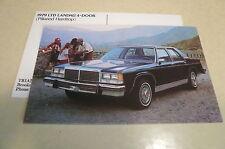 1979 Ford LTD Landau 4 Door Postcard + Bonus