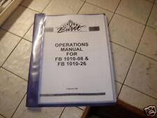 OWNER MANUAL FLAVOR BURST 8 FLAVOR #FB1010-08,FB1010-26