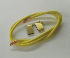 Koford Ultra flex silicone lead wire w/ clips for 1/24 Slot Car