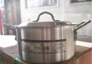 Cooking Pots Aluminium size # 1,2,3,4,5,6,7,8,9,10,11,12,13,14 (Free Post in UK)