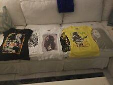 Lot Of 6 Bob Marley T-shirts Womens S-L