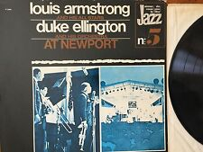 Louis Armstrong / Duke Ellington ‎– At Newport Stereo Vinyl LP (CSP 1973) P13295