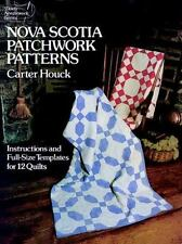 Quilts Nova Scotia Patchwork Patterns Full-Size Templates Instructions for 12