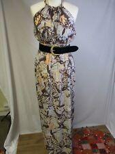 Boho Bohemian Butterfly Grecian Summer Holiday Wedding Guest Maxi Dress NEW 12