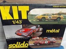 Solido Ferrari Daytona Metal Model Kit 1/43