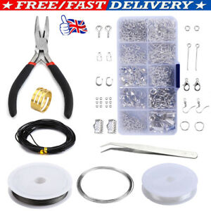 Silver Jewelry Wire Making Starter Kit Sterling+Repair Tool Craft Supply Set UK