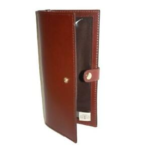 TEALES PREMIER LEATHER DOUBLE CERTIFICATE WALLET HARNESS BROWN