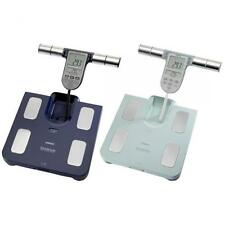 Omron BF511 Body Composition Monitor BMI Fat Muscle Weighing Scales - Light Blue