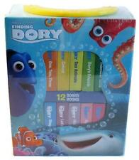 Finding Dory My First Library Box Set of 12 Board Books NEW Disney Book Block