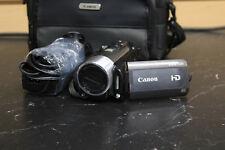 Canon Vixia HF200 HD CMOS Digital Camcorder Camera W/Bag & Charger