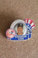 2007 NY New York Yankees Robinson Cano photo lapel pin c28705