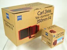 4/350 350 mm f4 Tele-apotessar Contax 645 Zeiss Modular LEICA S 007 s2 P E En parfait état, dans sa boîte!