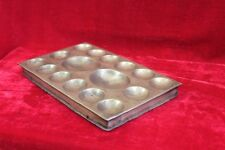 Old Vintage Indian Handmade Unique Brass Egg Tray Game Collectible PP-34