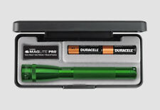 Maglite Pro 272 Lumens LED SP2P397 Mini MAG 2-Cell AA Green Presentation USA