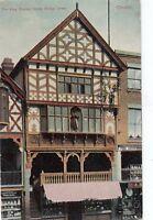 Postcard - Chester - The King Charles House. Bridge Street