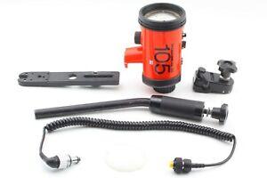 【Exc+++++】 Nikon Nikonos Speedlight SB-105 Underwater Strobe Flash JAPAN # 641
