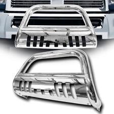 Stainless Chrome Bull Bar Brush Bumper Grill Grille Guard 09-18 Dodge Ram 1500