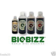 Bio Bizz, Bio Grow, Bio Bloom, Root Juice & Top Max 500ml Nutrient Pack