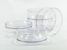 Lot of 1000 Polycarbonate Clear Plastic TEALIGHT Molds Cups