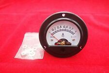 1pc AC 0-1A Round Analog Ammeter Panel AMP Current Meter Dia. 66.4mm DH52