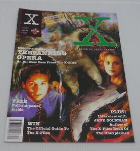 X-FILES MANGA NO. 7, UK COMIC BOOK VERSION, MAGAZINE SIZE w BONUSES, TV SCI FI
