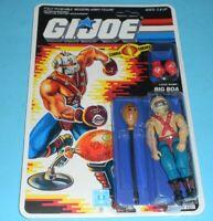 *RECARDED* 1987 GI Joe Cobra Big Boa Figure Complete Sealed Full File Card Back