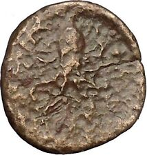 SYRACUSE in SICILY 435BC Nymph Octopus Trias 2nd DEMOCRACY Greek Coin i51849