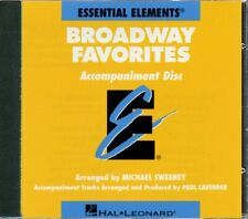 Essential Elements Broadway Favorites Accompaniment CD Band Folios CD 000860053