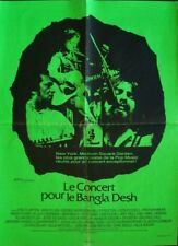 CONCERT FOR BANGLADESH French movie poster GEORGE HARRISON BOB DYLAN CLAPTON