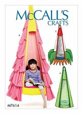 McCalls Crafts SEWING PATTERN M7614 Kids Hanging Seat With Removable Pillow