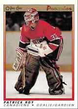 1990-91 O-Pee-Chee Premier Patrick Roy Montreal Canadiens #101
