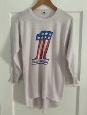 New listing Vtg 70s Evel Knievel Harley Davidson #1 Thermal Long Sleeve Shirt Sz M T-Shirt