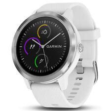 Garmin Vivoactive 3 GPS Fitness Reloj Inteligente, Blanco Y Acero (010-01769-21)