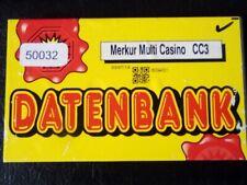 50032 Merkur Multi Casino CC3 Merkur ADP DATENBANK funktioniert im Spielautomat