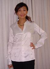 """Esprit Collection""ButtonDownLongSleeveWhiteShirtCareer,Sz8,PolyesterRetail$55.5"