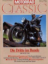 Motorrad Classic 5/92 1992 BMW R 62 DKW RT 250/1 Ducati 750 Imola NUT 500 Bullet