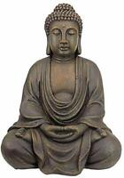 "Large Sitting Buddha Statue Decor 26"" Outdoor Garden  Indoor Home Design Toscano"