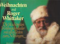 Weihnachten mit Roger Whittaker : Weihnachtslieder mit Texten - Vinyl LP v. 1983