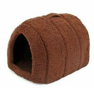 Cat House Bed Cave Easy To Carry Kennel Cushion Mats For Kittens Pet Supplies