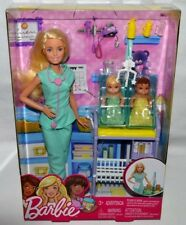 NIB-BARBIE I CAN BE...BABY DOCTOR-2016-INTERNATIONAL-2 BABIES +MORE ACCESSORIES
