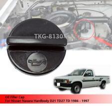 Oil Filler Cap For Nissan Navara Hardbody D21 TD27 TD 1986 - 1997