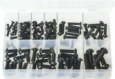 Assorted Box of Socket Screws - Button Head - Metric Black - 115 Pieces AB204N
